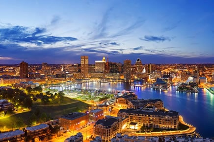 baltimore, MD skyline