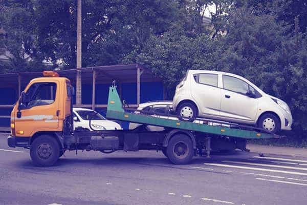 towing a car 1